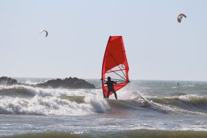 Windsurfen Egmond aan Zee