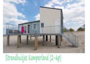 Strandhuisjes Kamperland 2-6p