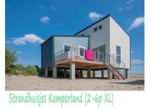 Strandhuisjes Kamperland 2-6p XL