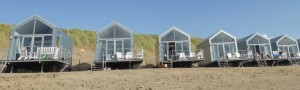 Strandhuisjes julianadorp aan Zee.