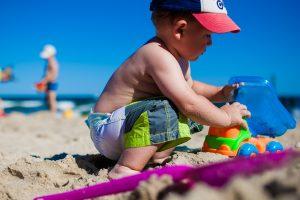 strand egmond aan zee kinderen spelen