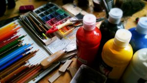 In Bergen wonen en werken veel kunstenaars