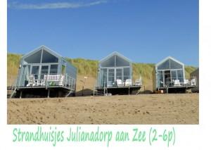 Strandhuisjes Juliaandorp aan Zee 2-6p